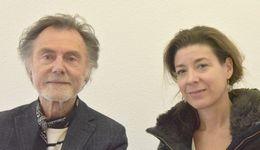 Claude-Charles Fourrier et Sylvie Dethiollaz